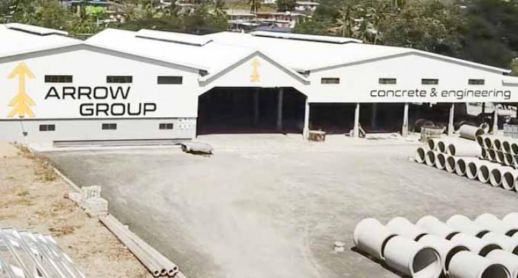 Arrow Concrete Now Fijian Made Certified