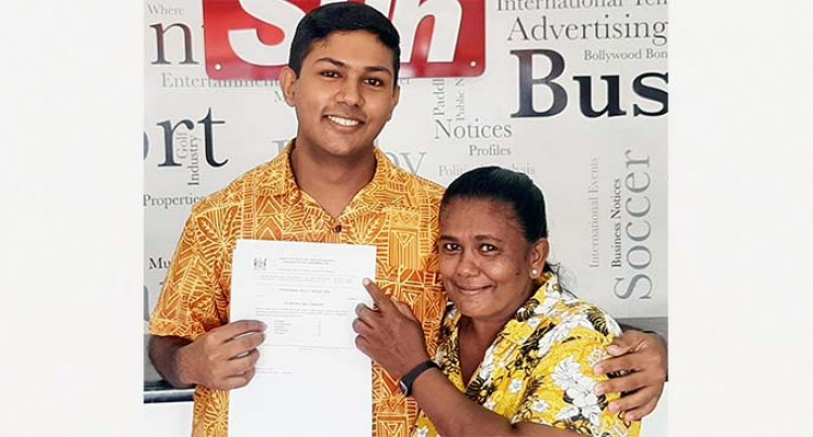 Natabua Student Dedicates Top Scores To Mum