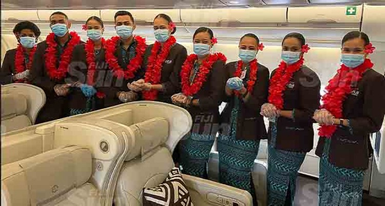 Border Frontliners Thank Fiji Airways For Special Valentines Day Treat