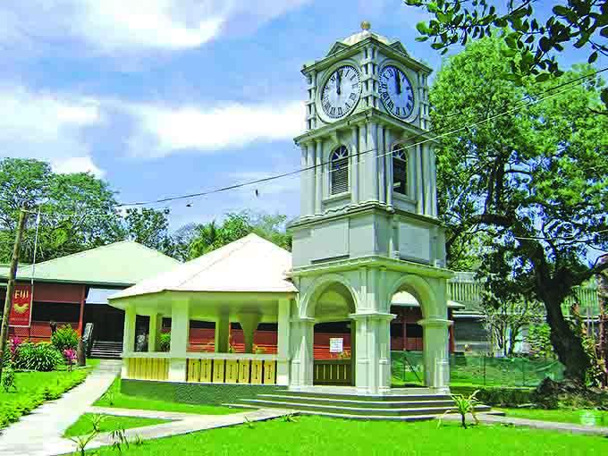 Fiji Musuem at Thurston Garden, Suva.