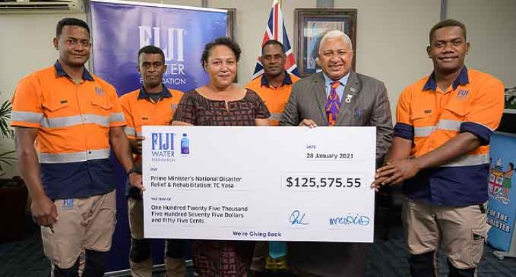 FIJI Water Foundation Donates More Than $125,000 For Cyclone Relief
