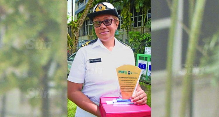 Navy's First Female Recruit: Precise, Focussed on Legal Detail
