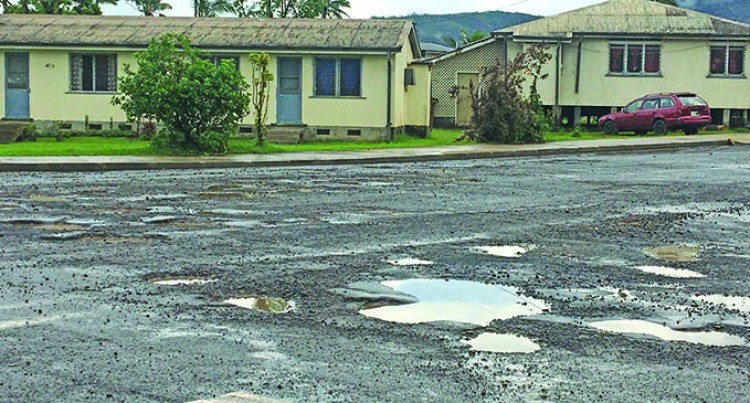 Road Works At Night To Repair Damage Caused By Cyclone