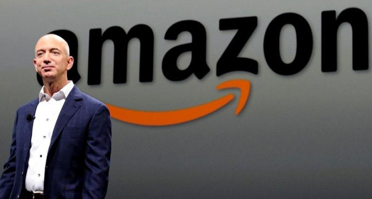 Amazon's Jeff Bezos To Step Aside As Chief Executive
