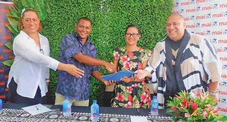 Mai TV, Wearing Fiji Expand Digital Presence, MOU