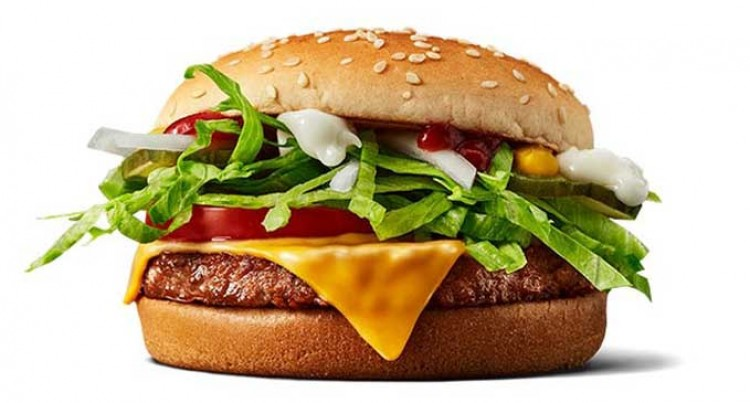 Scandinavia Gets To Taste McPlant Burger