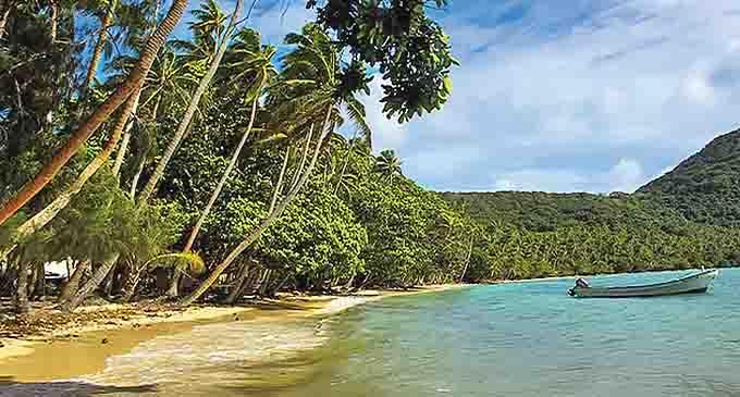 Naigani Island in the Lomaiviti Group.