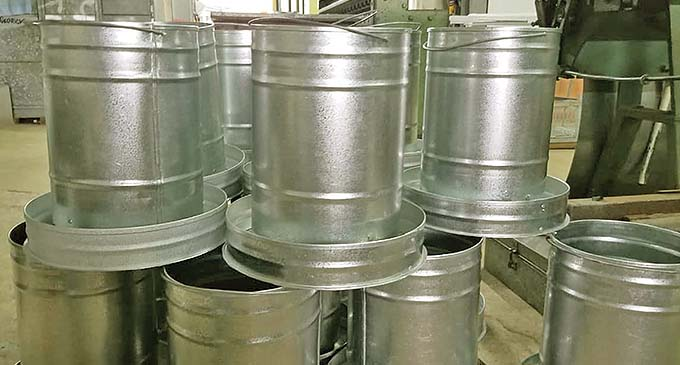 Nands Plumbing and Builders Pte Limited feeder cans.