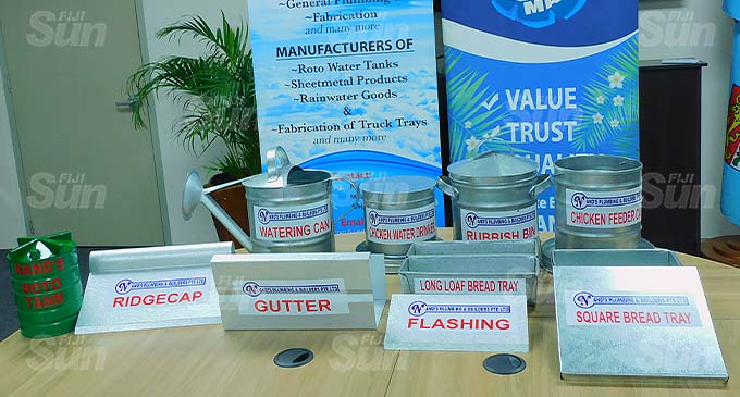 Nands Plumbing and Builders Pte Limited sheet metals.