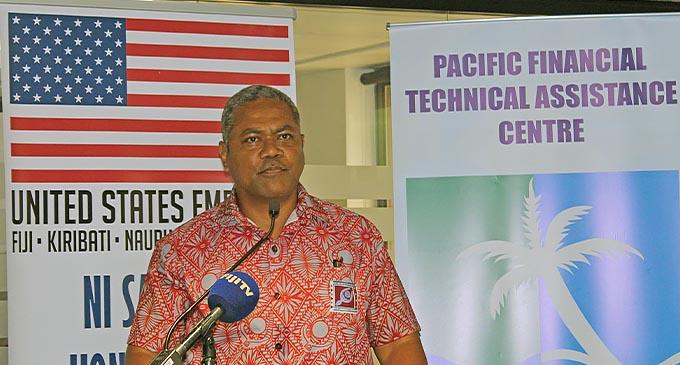 PFTA Fijis Deputy Governor RBF Esala Masitabua.