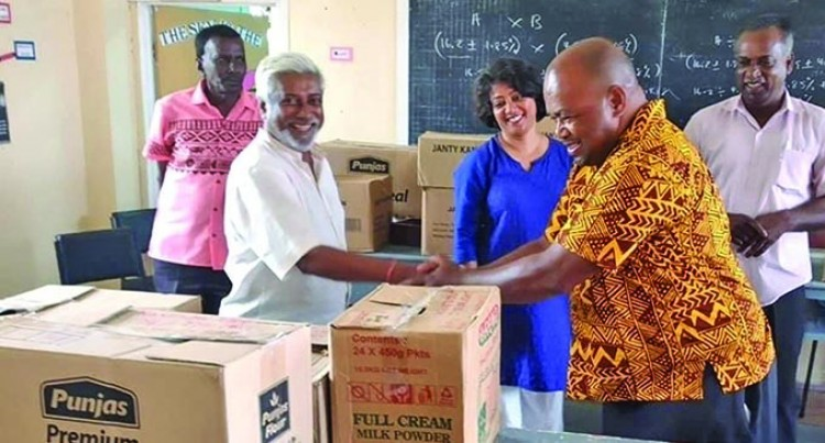 Stationery Packs Given To More Than 3400 Students