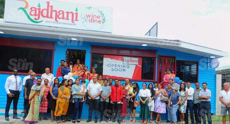 Rajdhani Restaurant Opens Doors in Suva