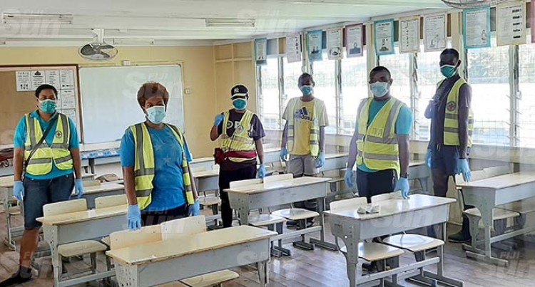 Lautoka Youths Help Clean Up Schools Post TC Ana