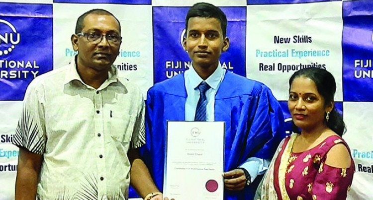 Roshil Aims To Further Education