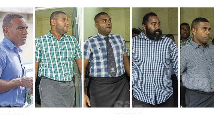 Five Cops Front Court On Charges Related To Planting Drugs In Complainant's Vehicle