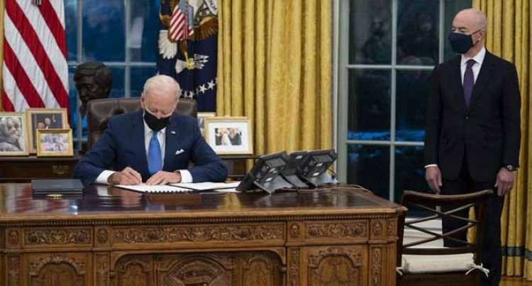 President Biden Is Off To Record Start