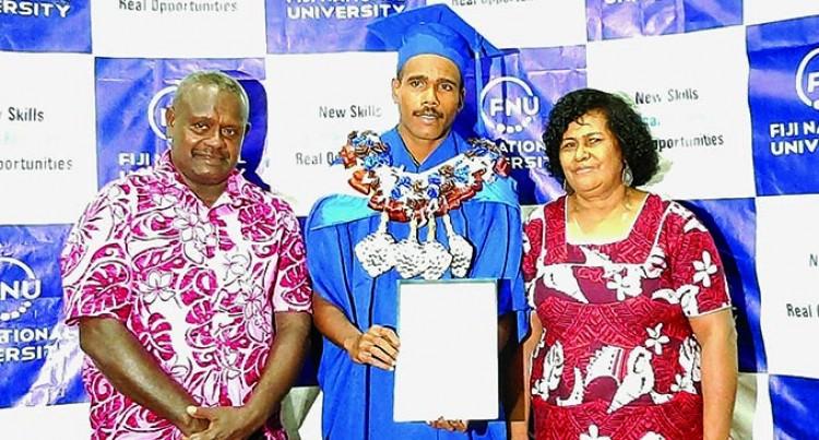 Graduate Credits Parents' Support, Sacrifice As Key To His Success