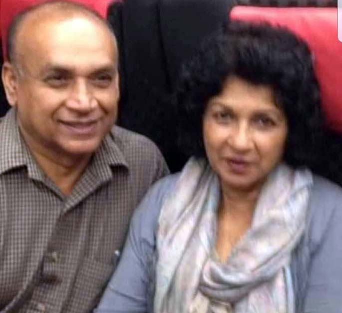 The late couple...Sesha Reddy and wife Mirdu Chandra
