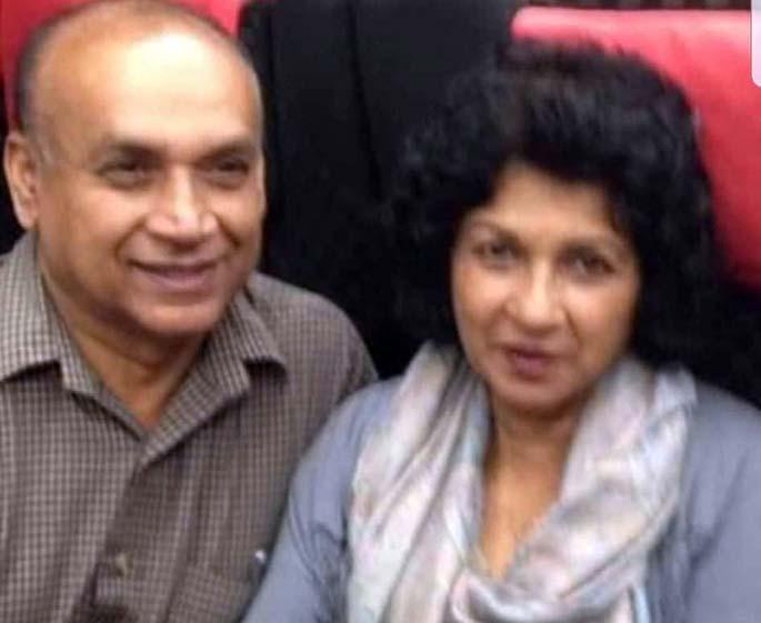 Sesha Reddy and wife Mirdu Chandra.