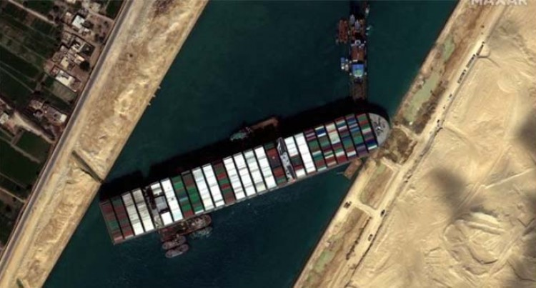 Fiji Spared From Suez Canal Mishap