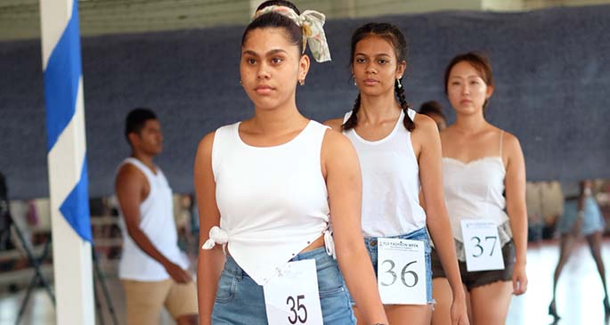Fiji Fashion Week held auditions at Yue Lai hotel in Suva on March 6, 2021.