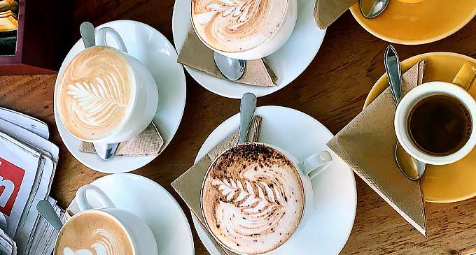 Coffee at The Coffee Hub Nadi. Source: @thecoffeehubfiji · Coffee shop FaceBook Page