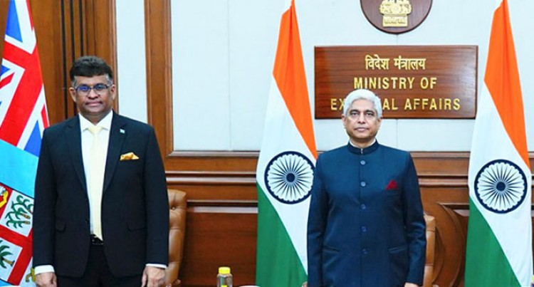 Presentation Of Credentials By Fiji's High Commissioner To India