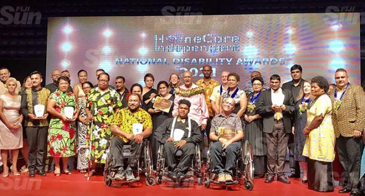 10 Recognised At Disability Awards Night