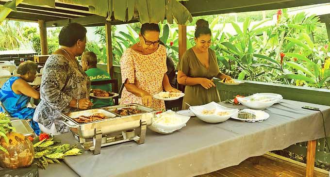 Enjoy your BBQ meal at Daku Resort