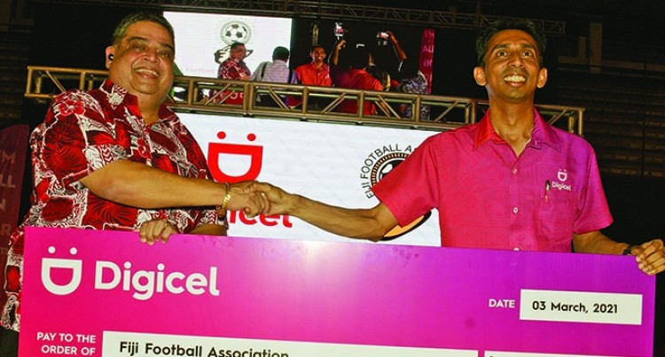 Digicel Seals $2.85m Deal With Fiji FA