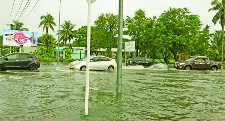 Capital City Hit With More Than 100 Millimetres Of Rain In Only Two Hours