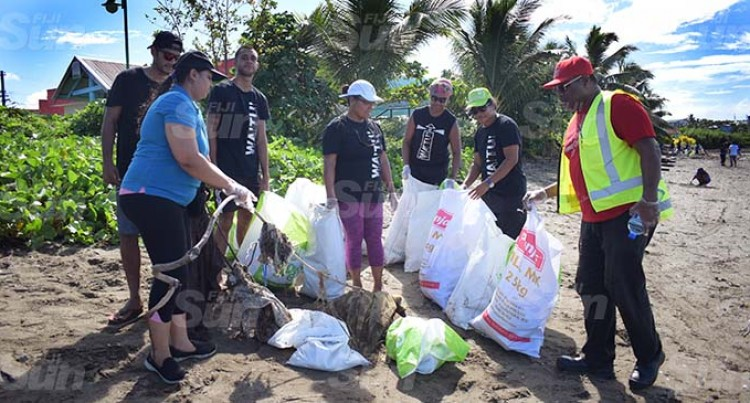 Two Tonnes Rubbish Removed From Lami