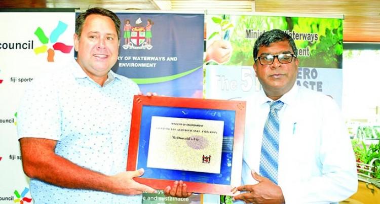 Mcdonald's Fiji Declared A Zero Waste Organisation