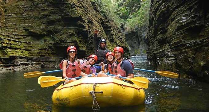 Navua River Rafting Guests