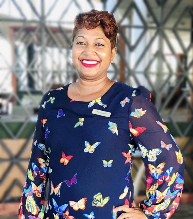 Nicolette Rogers -Food & Beverage Manager, Fiji Marriott Resort Momi Bay.