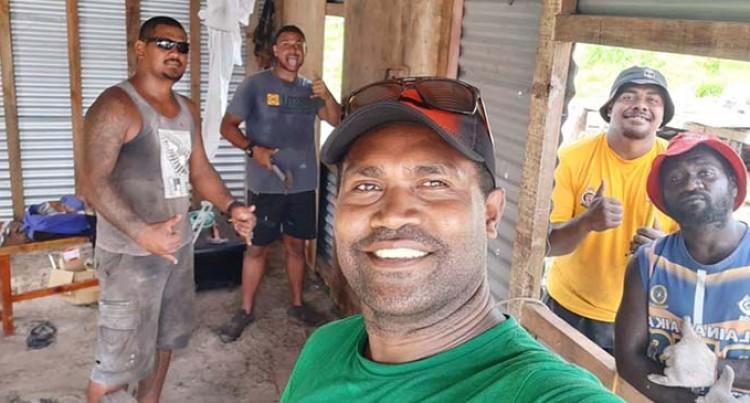Solomon Islands Students Help In Rebuilding Home