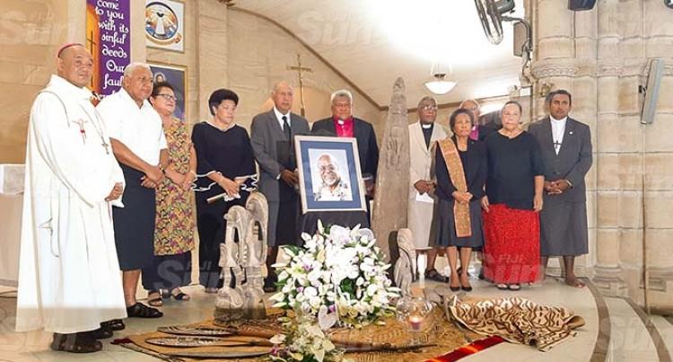 Memorial Mass For Sir Michael