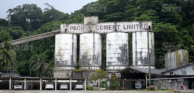 Pacific Cement factory in Lami on March 23, 2021. Photo: Ronald Kumar.