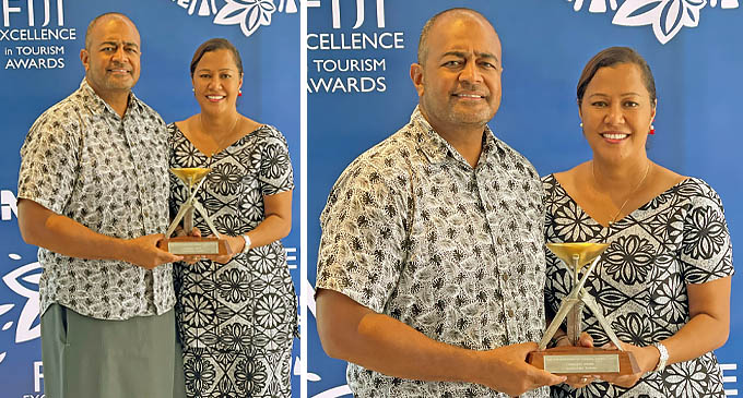 Pacific Destinations Fiji directors and co-owners James and Lala Sowane.