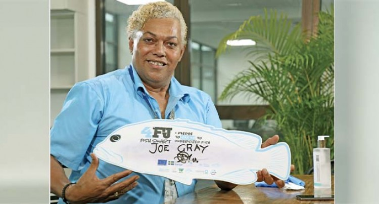 Fish Smart Champion: Leave the Baby Fish Alone, Pleads Joe Gray