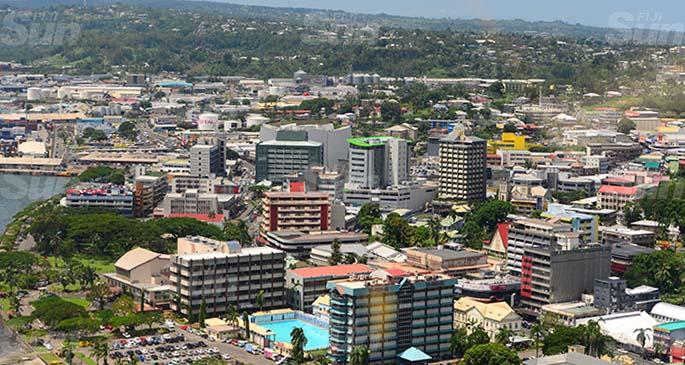 An aerial view of Suva City. Photo: Ronald Kumar