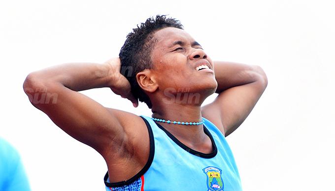 Roela Kalaumaira of Namosi Secondary School following her Suva Zone 1 3000meters final win at ANZ Stadium on March 16, 2021. Photo: Ronald Kumar.