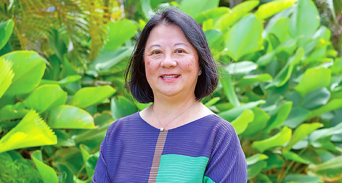 Tammie Tam - Senior Vice President Warwick Hotels and Resorts International and Executive Director.
