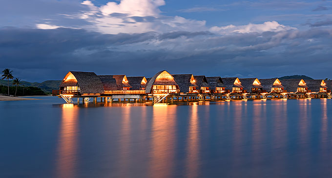 A view of Marriott Momi Bay Resort