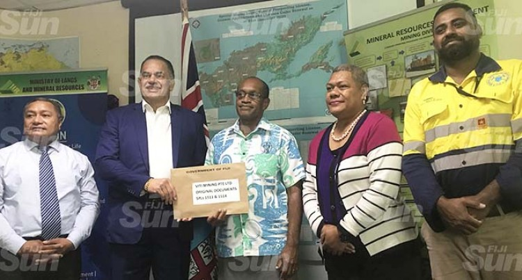 Viti Mining Gets Two Licences