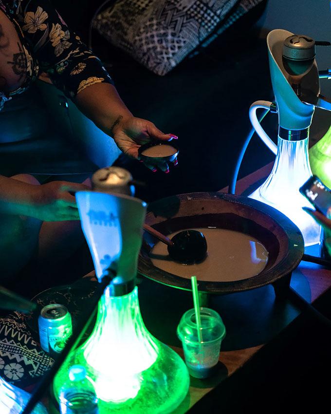 Kava at the Bula Hookah Lounge.