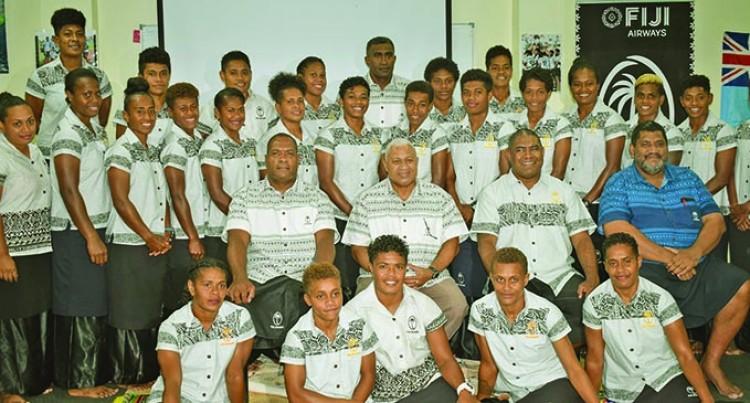 Keep Working Hard, PM Urges Fijiana 7s Reps