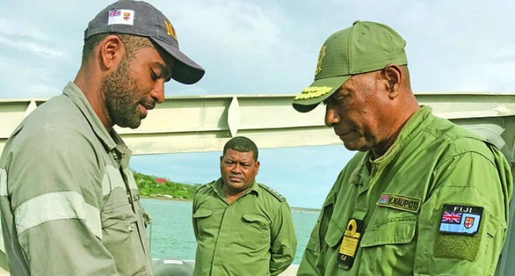 Rear Admiral Naupoto Ends North Work Trip