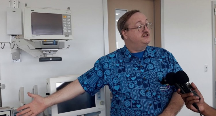 Roy Morris – Sai Sanjeevani Children's Heart Hospital.
