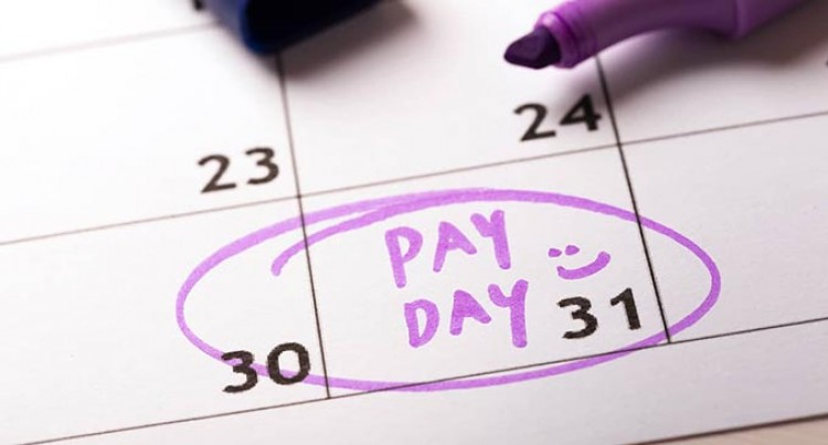 Civil Servants Will Be Getting Paid A Day In Advance